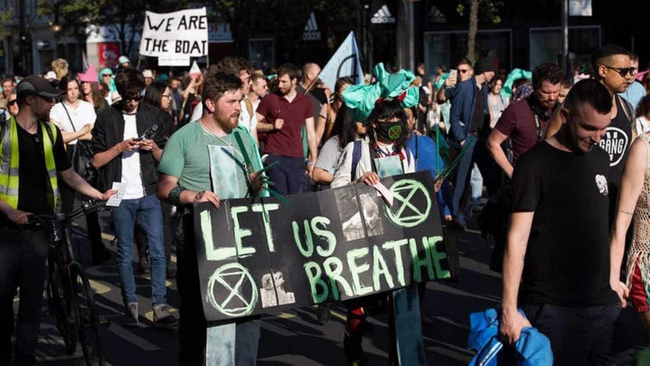 Declaring an emergency was one of the demands from the Extinction Rebellion protest put to the UK government. image credit: Shutterstock