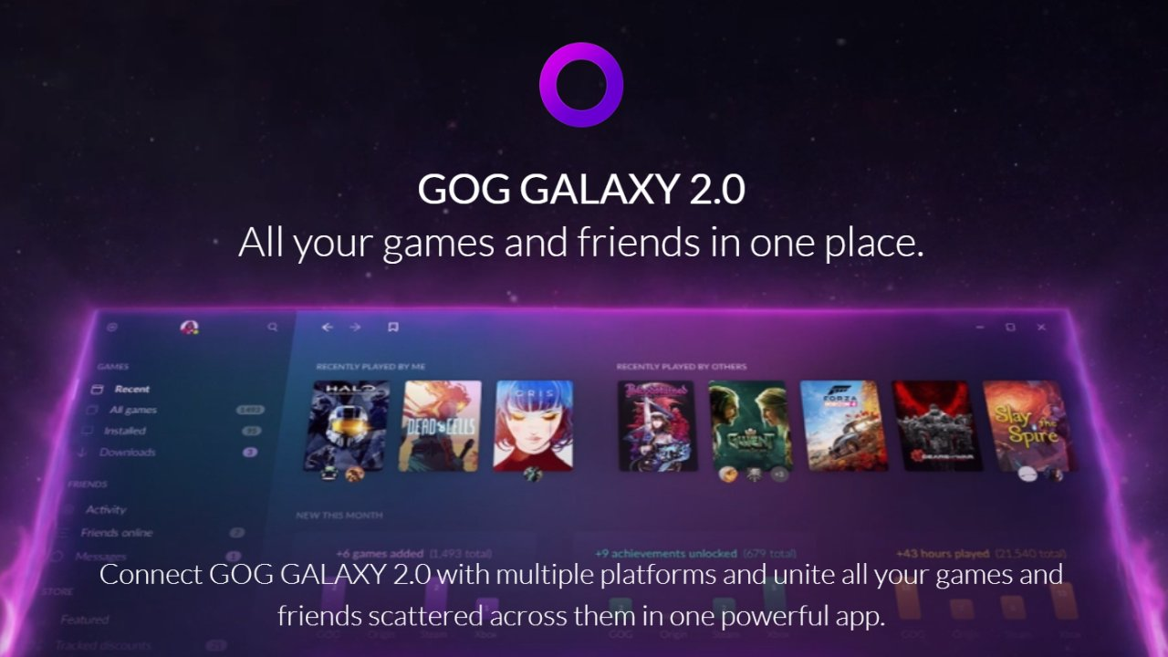 GOG's Galaxy 2.0 has now entered closed beta combining your game libraries