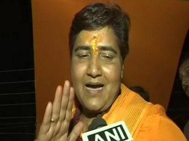 EC stops screening of short film featuring Pragya Singh Thakur in Madhya Pradesh after Congress complaint