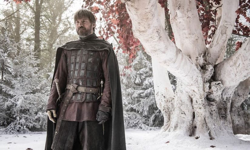 Jaime comes North to fight the Army of the Dead. Still from Game of Thrones season 8. HBO