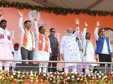 Narendra Modi dares Congress to fight remaining phases of LS polls on self-respect of Bofors-accused PM