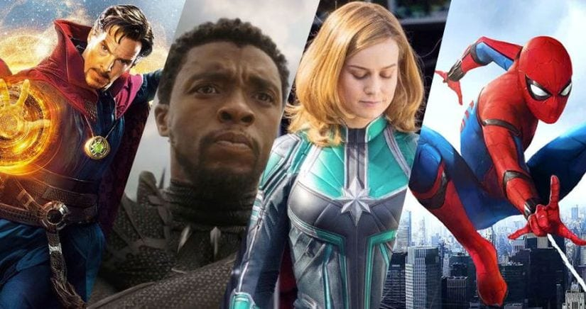 Doctor Strange (Benedict Cumberbatch), Black Panther (Chadwick Boseman), Captain Marvel (Brie Larson) and Spider-Man (Tom Holland) are likely to compose Phase 4 of the Marvel Cinematic Universe