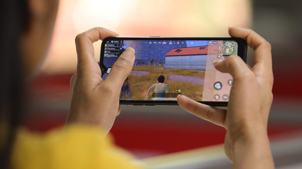 Gaming experience on Realme C2 isn't very great. Image: tech2/Nandini Yadav