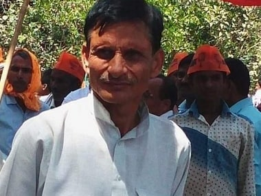 Smriti Iranis aide Surendra Singh shot dead in Amethi: BJP leader helps carry ex-village heads body for last rites