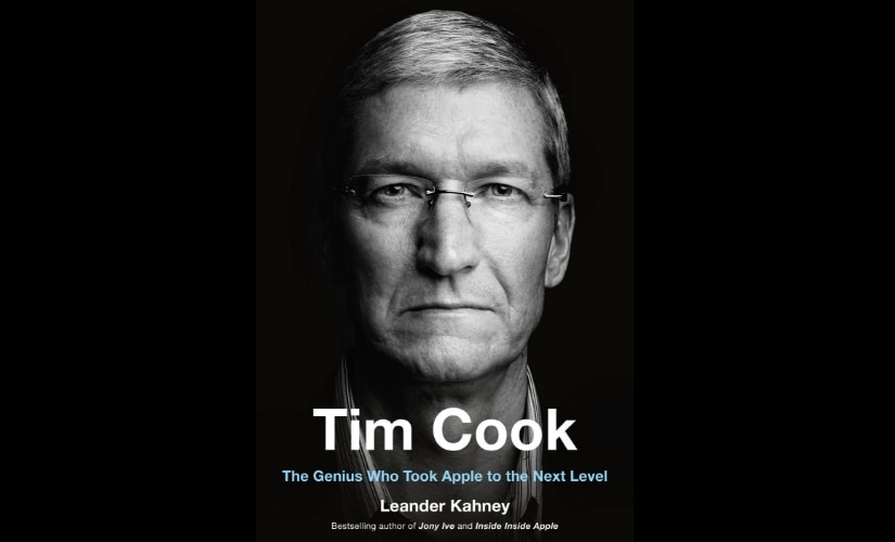 Leander Kahneys Tim Cook biography charts Apple CEOs journey and successes following death of Steve Jobs