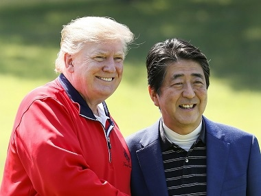 Donald Trump in Tokyo: US president says he will make trade relations with Japan 'a little more fair'