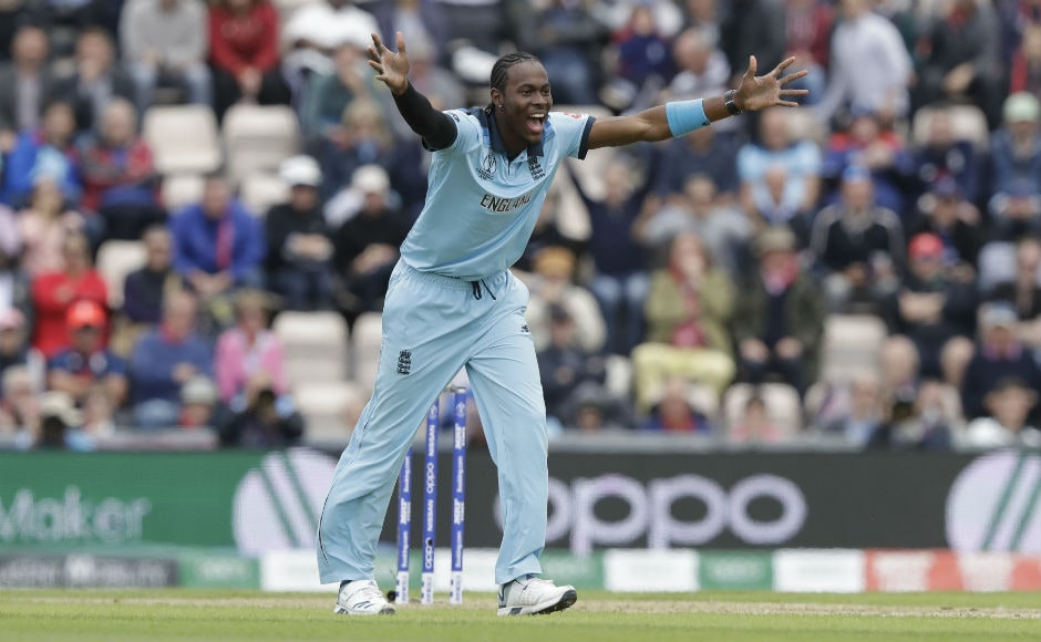 Jofra Archer shone against the team representing his native country, collecting 3/30 from