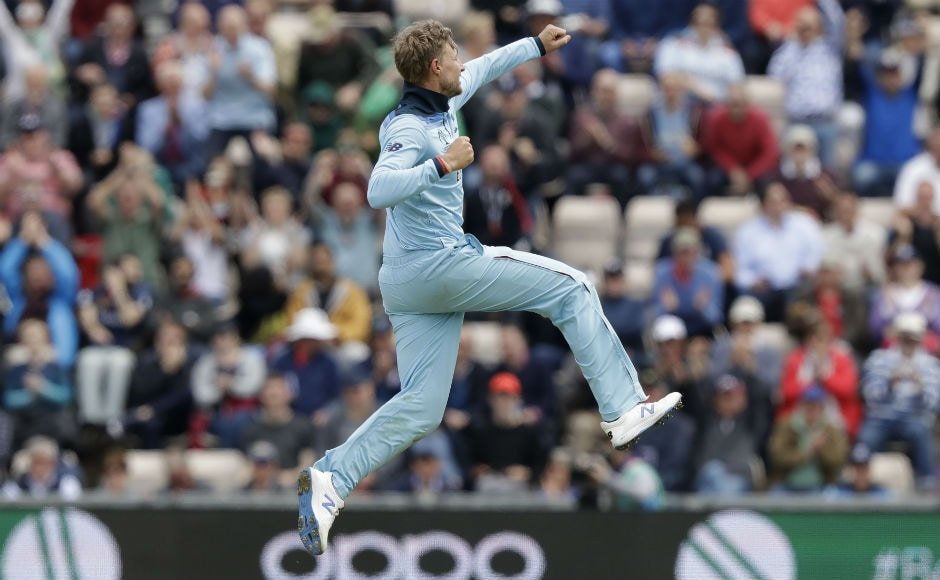 Joe Root pegged West Indies back with a couple of quick wickets in a five-over spell. AP