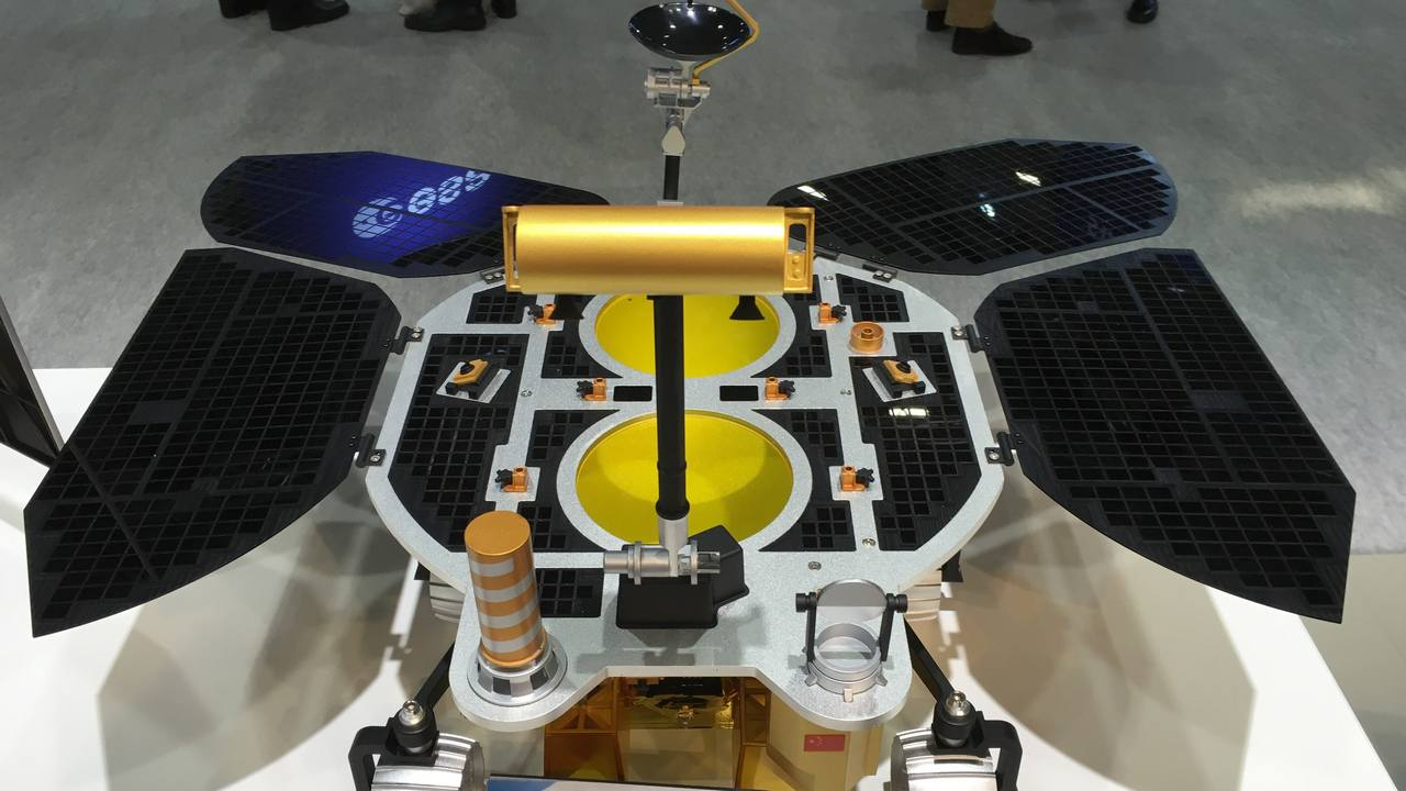 Mars Global Remote Sensing Orbiter & Small Rover will be launched in July or August 2020 by China's National Space Administration and will use radar to map the topography of the Red Planet. Image credit: Wikimedia Common/Pablo de León‎