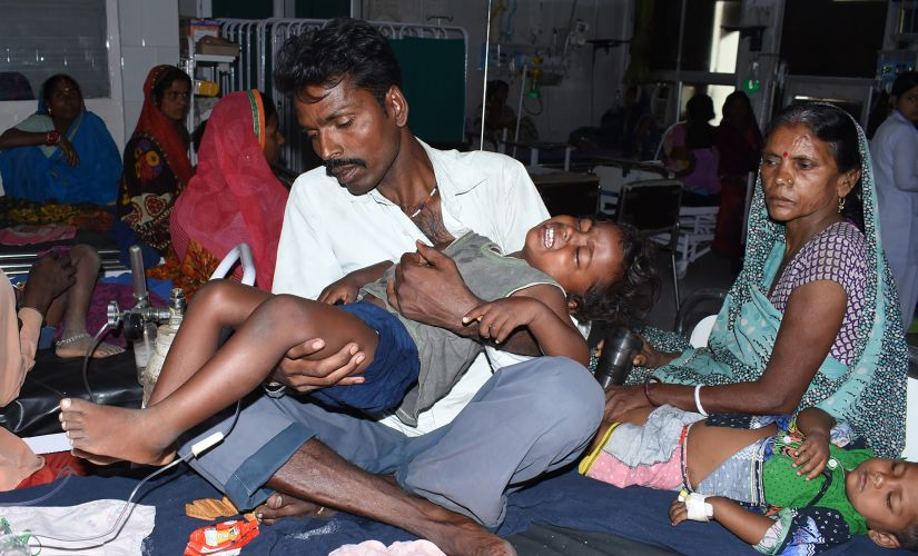 The brain-fever crisis spiralled in Gorakhpur when in 2005 a particularly virulent form of JE affected over 6,000 people, killing 89 percent of those infected. After the mayhem, the infection was largely contained with two JE vaccination drives, in 2006 and 2010. AFP