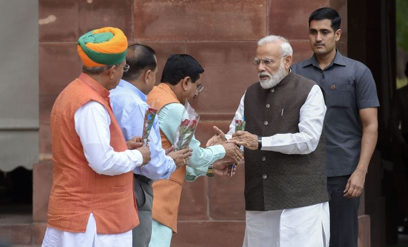 First session of 17th Lok Sabha begins with Narendra Modi assuring Opposition that numbers dont matter, their views do