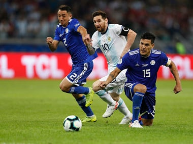 Copa America 2019: Lionel Messi converts penalty to salvage draw for Argentina against Paraguay