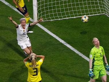 FIFA Womens World Cup 2019: US beat Sweden to make it three wins in row; Cameroon in last 16 after dramatic victory