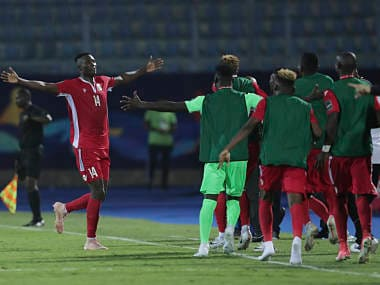 African Cup of Nations 2019: Kenyas Michael Olunga scores brace against Tanzania to keep team in hunt for last-16 place