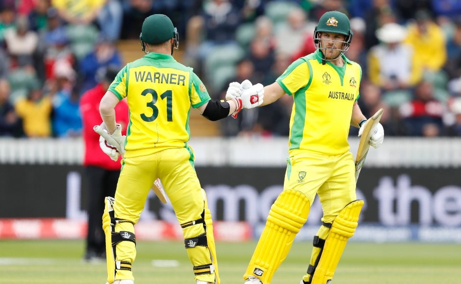 Australia were put into bat by Pakistan and opening pair of Aaron Finch and David Warner laid the platform with an 146-run partnership. AP