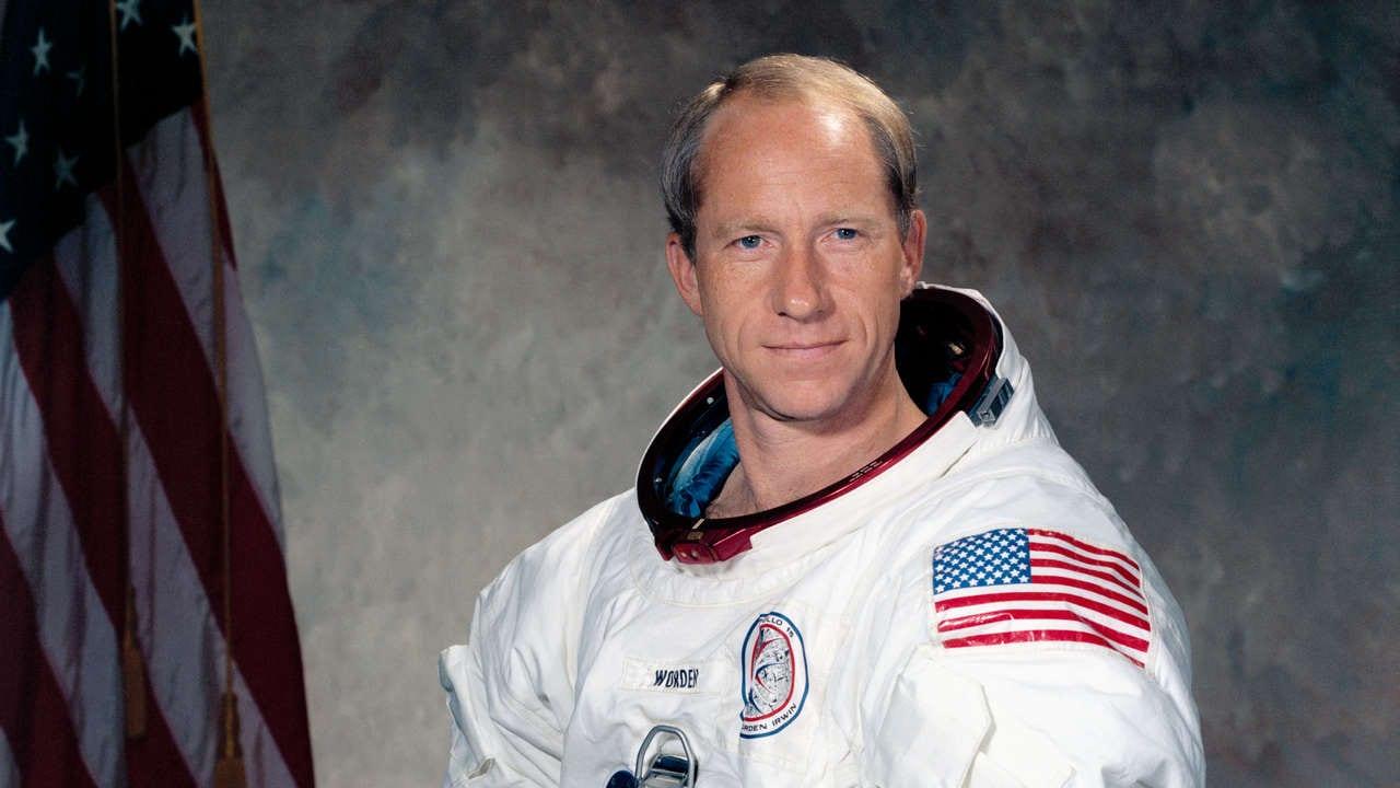 Astronaut Al Worden. Image credit: Wikipedia