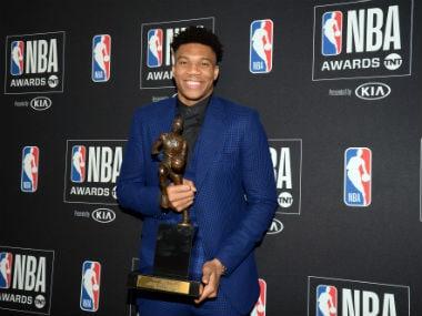 NBA: Milwaukee Bucks star forward Giannis Antetokounmpo wins Most Valuable Player award for 2018-19 regular season