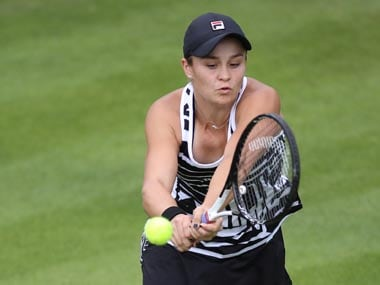 Wimbledon 2019: World No 1 Ashleigh Barty pulls out of Eastbourne International with arm injury, expected to be fit for tournament