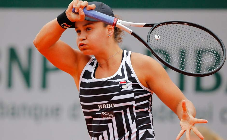 Australian player Ash Barty reached her first Grand Slam final.by ending the run of 17-year-old American Amanda Anisimova 6-7 (4), 6-3, 6-3. AP