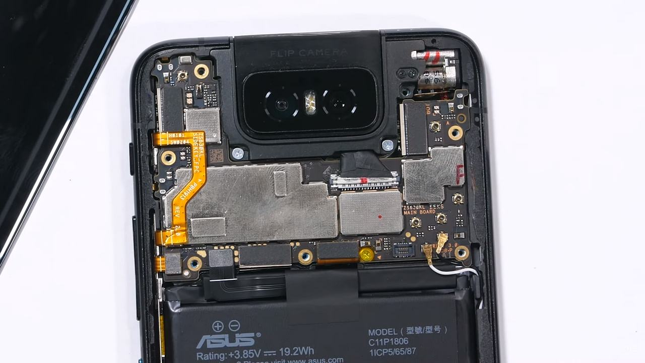 ASUS 6z teardown reveals just how unique the flip camera is on the inside- Technology News, Firstpost