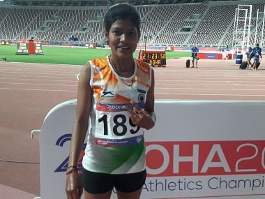 Indian long distance runner Sanjeevani Jadhav placed under provisional suspension for failing dope test