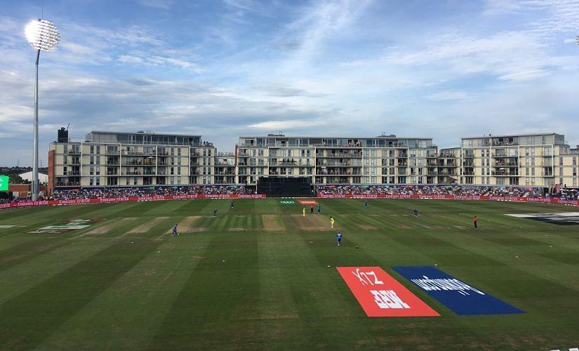 Watching Afghanistan vs Australia at Bristol. Image courtesy Geoff Lemon