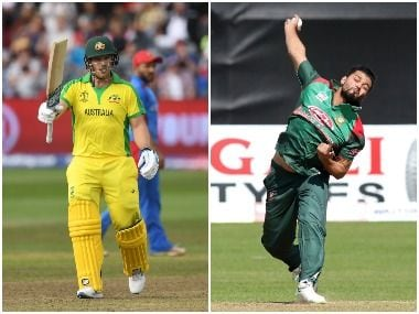 Australia vs Bangladesh LIVE SCORE, ICC Cricket World Cup 2019 Match: Liton Das departs for 20 after LBW