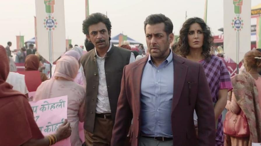 Bharat new song Aaya Na Tu documents Salman Khans journey to find his missing father Jackie Shroff