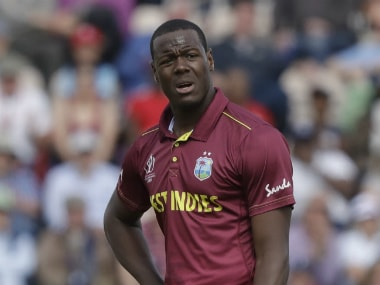 England vs West Indies, ICC Cricket World Cup 2019: Carlos Brathwaite slapped with demerit point for showing dissent at umpire