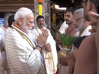 Narendra Modi holds first public meeting in Keralas Guruvayur since poll win, says BJP drew zilch here but state as dear to me as Varanasi