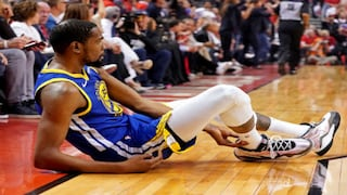 Nba Finals 2019 Warriors Star Kevin Durant S Shock Game 5 Exit Leaves Players And Fans On Both Sides In Shock Sports News Firstpost