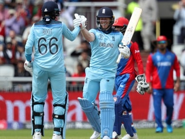 England vs Afghanistan, ICC Cricket World Cup 2019: Eoin Morgan smashes sixes record as hosts register massive 150-run win