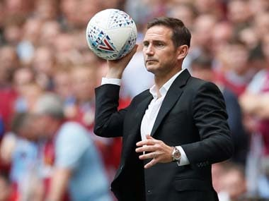 Premier League: Derby free up Frank Lampard to begin negotiations with Chelsea for vacant managerial position