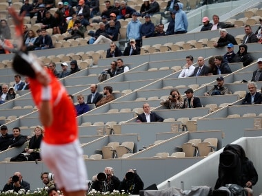 French Open 2019: Organisers asked employees to fill empty seats on main court for Saturdays men's semi-final and women's final