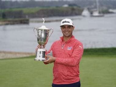 US Open Golf: Gary Woodland smothers defending champion Brooks Koepkas bid for history with maiden major win