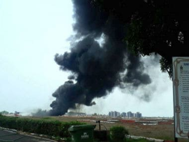Goa airport temporarily closed after fuel spill from MiG-29K aircraft causes fire on runway
