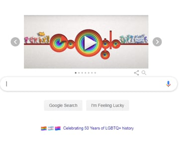 From streets of New York to gullies of India, Google Doodle for Pride Month encapsulates LGBTQ's struggle for equality