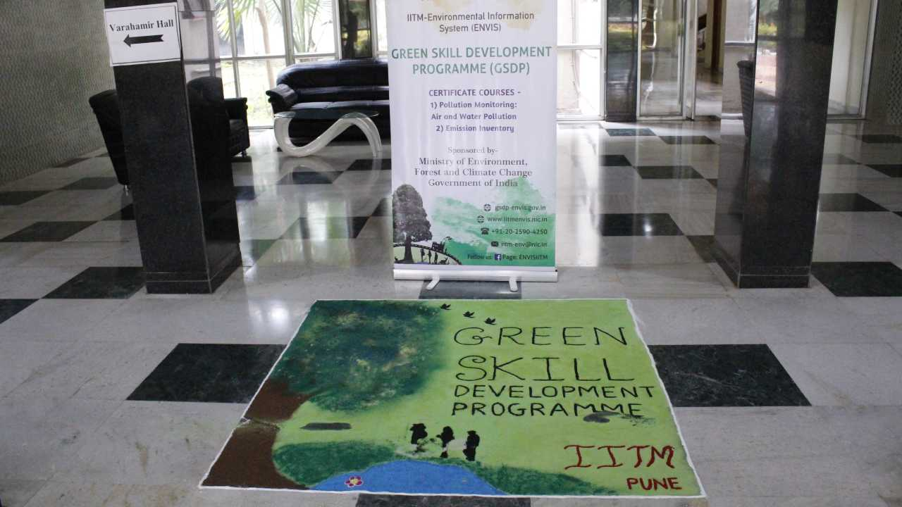 IITM, Pune conducted courses on emission inventory and monitoring of air & water pollution under GoI's Green Skill Development Programme (GSDP) as part of a national wide initiative taken by the MoEF&CC. Image: IITM