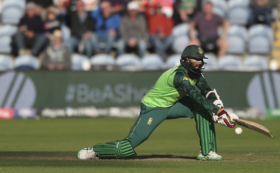 South Africa's Hashim Amla remained unbeaten on 48 with Andile Phehlukwayo at the other end as the Proteas eased to a nine-wicket win over the Afghans. AP
