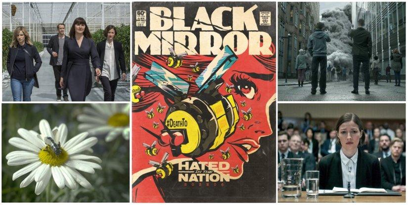 Hated in the Nation (Stills: Netflix; Artwork: Butcher Billy)