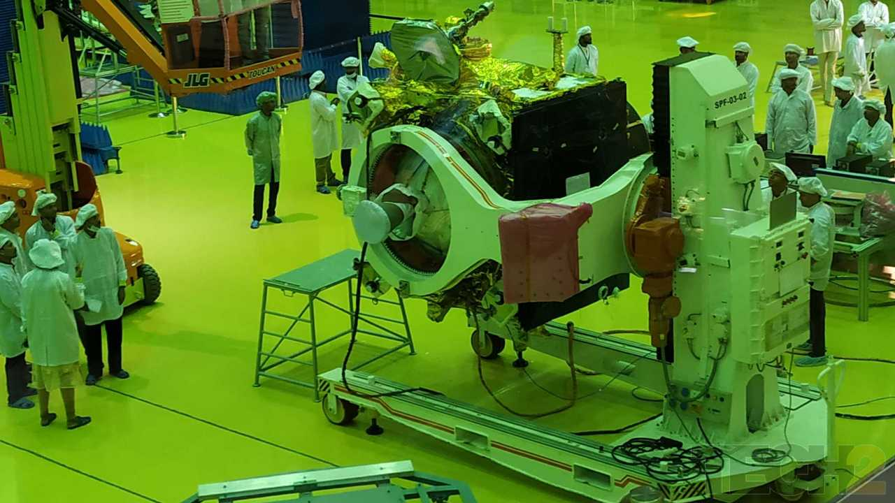 Final tests are being conducted on the Orbiter. Image credit: Tech2