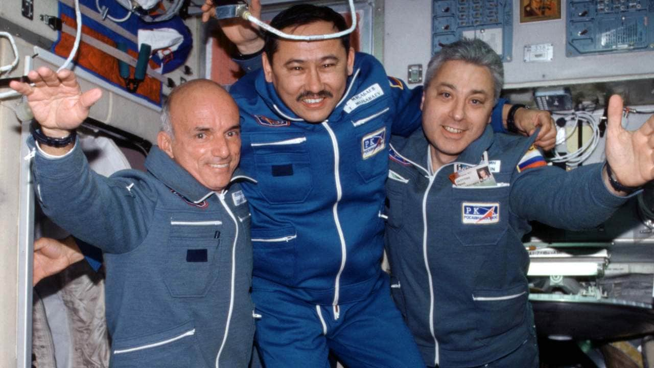 Dennis Tito, the first private citizen to go to space. Image credit: Wikipedia