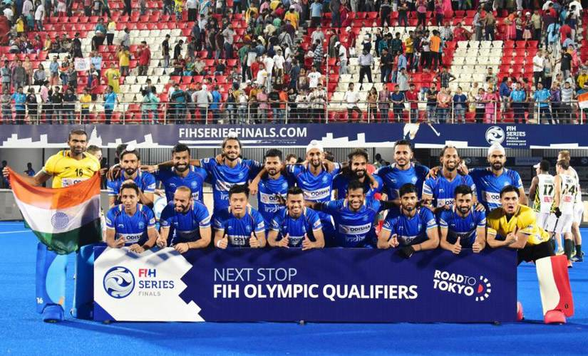 India secured their participation in the Tokyo 2020 qualifiers by reaching the finals. Twitter@sports_odisha