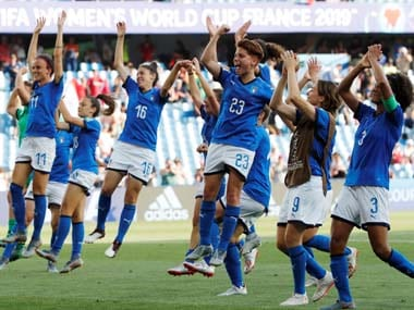 FIFA Womens World Cup 2019: Valentina Giacinti, Aurora Galli score as Italy beat China to reach first quarter-finals since 1991