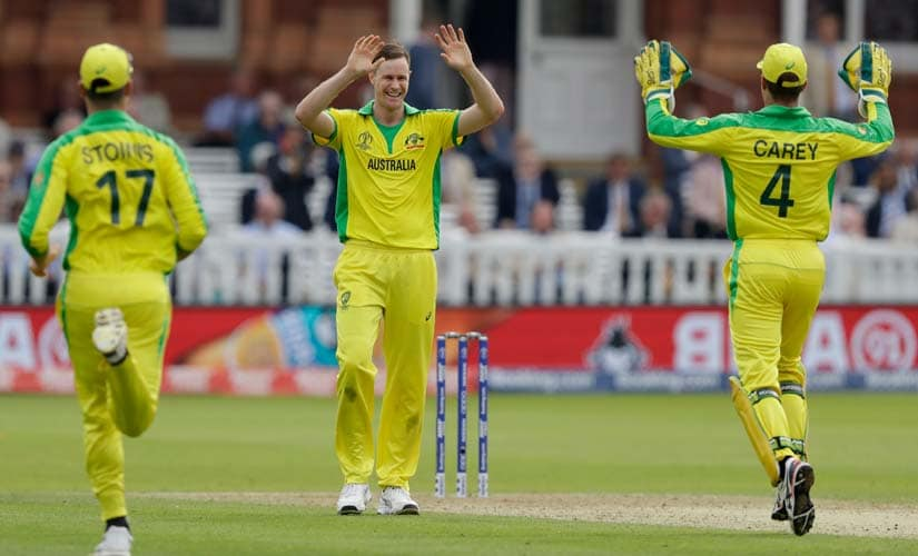 England vs Australia, ICC Cricket World Cup 2019: Jason Behrendorff, Aaron Finch power Aussies into semi-finals with five-wicket haul against hosts