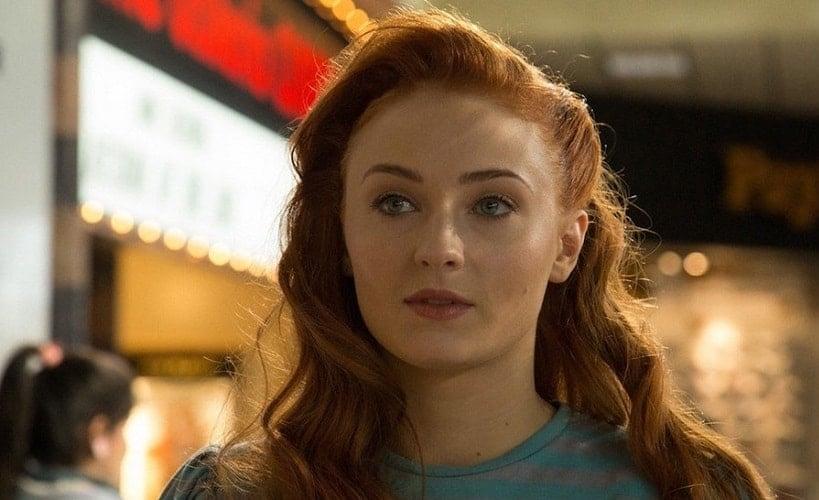 Sophie Turner as Jean Grey in X-Men: Dark Phoenix   Twitter