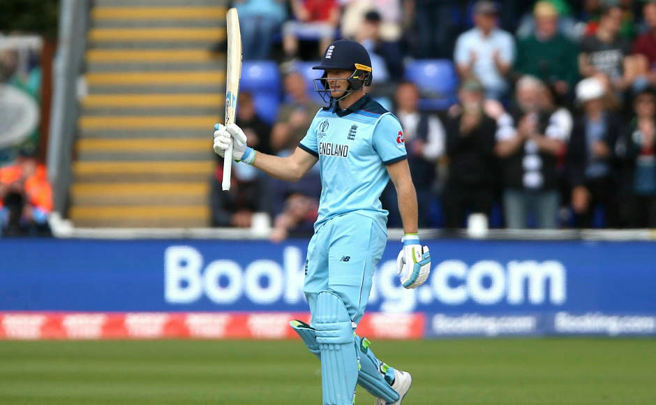 Jos Buttler notched up a half-century as he played a knock of 64 runs from 44 balls. Apart from his and Roy's efforts, Jonny Bairstow also scored a half-century whereas Eoin Morgan contributed 35 runs to take England to 386-6 from 50 overs. AP