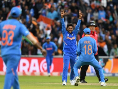 India vs Pakistan, ICC Cricket World Cup 2019: Kuldeep Yadav announces return to form with memorable spell at Old Trafford