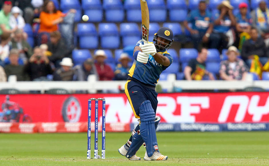 Kusal Perera, bowlers steal the show as Sri Lanka down Afghanistan in rain-curtailed Cricket World Cup match to get first points