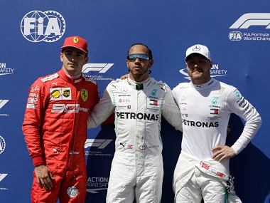 French Grand Prix: Lewis Hamilton beats Mercedes teammate Valtteri Bottas to clinch pole with blistering late qualifying lap